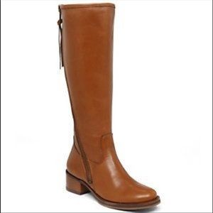 Lucky Brand Heston Wide Calf Boot in Cognac